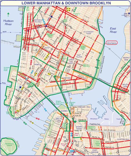 Bike Lane Nyc Map.Exploration Blog Archive Riding Through Mountains Of Data